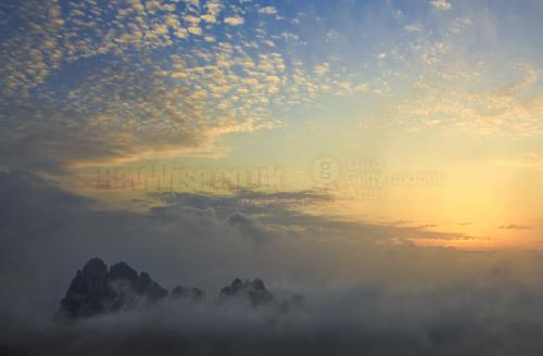 Huangshan day 2 sunset 050
