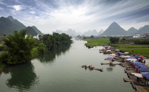 Yulong Scenic Area, China